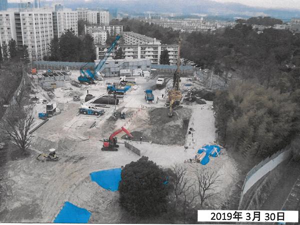 千里竹見台団地南区域先工区建築その他工事