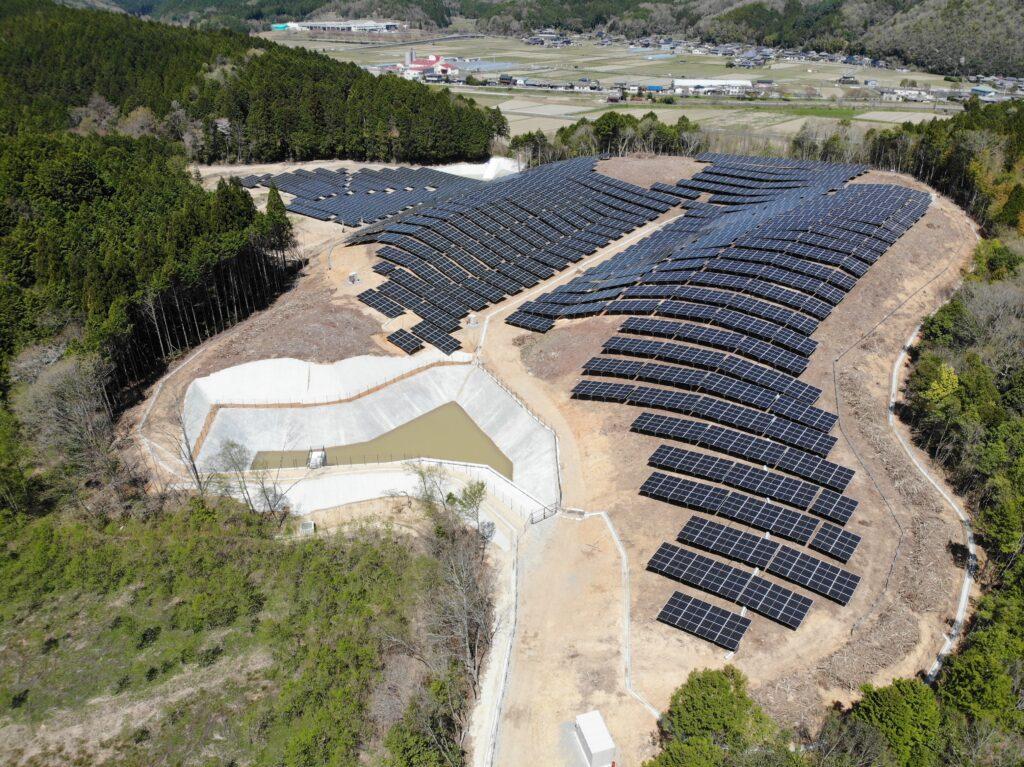 京都府南丹市太陽光発電所